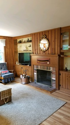 Orleans Cape Cod vacation rental - A quaint living room to unwind in after a nice day at the beach