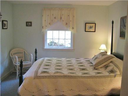 Orleans Cape Cod vacation rental - Master bedroom with 4-poster double bed.