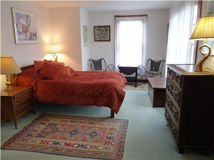 West Falmouth Cape Cod vacation rental - Second floor master bedroom next to full bath (queen)