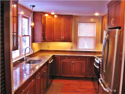 West Falmouth Cape Cod vacation rental - Newly renovated kitchen