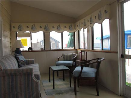 Dennisport Cape Cod vacation rental - Living area, water side