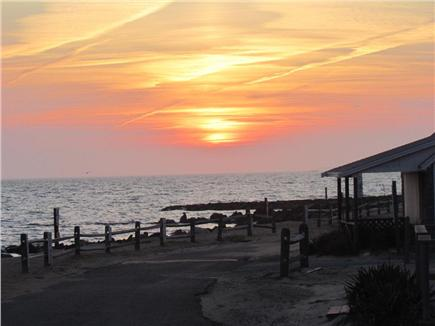 Dennisport Cape Cod vacation rental - View from front of cottage