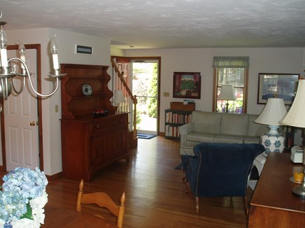 Harwich Cape Cod vacation rental - Great room - looking toward the living area