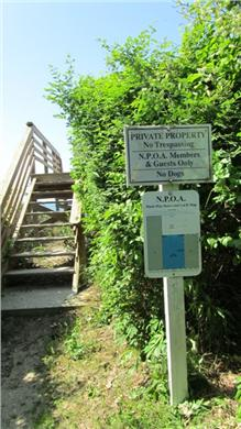 Dennis Village Cape Cod vacation rental - Path to Private Association Beach