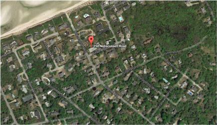 Dennis Village Cape Cod vacation rental - Aerial View