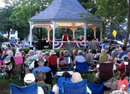 Dennis Village Cape Cod vacation rental - Village Green Monday Concerts