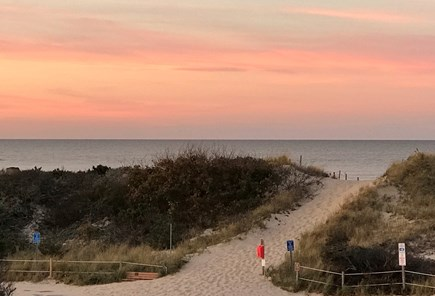 Dennis Village Cape Cod vacation rental - Bay Side Sunset