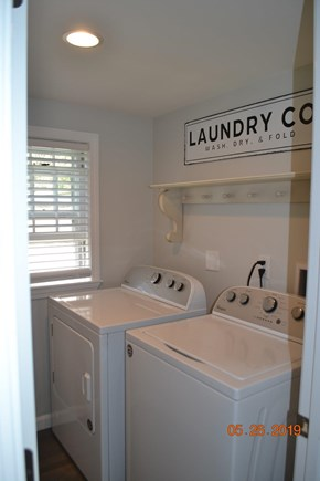 West Dennis Cape Cod vacation rental - New Washer and dryer.