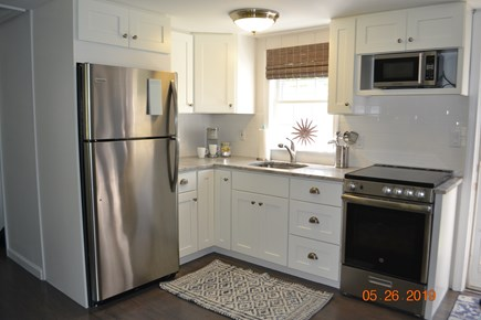 West Dennis Cape Cod vacation rental - New Kitchen with all new countertops, cabinets, and appliances.