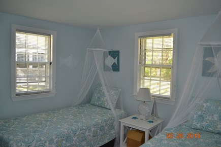 West Dennis Cape Cod vacation rental - Bed Room #3. Kids bedroom with two new beds.