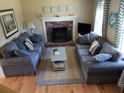South Yarmouth Cape Cod vacation rental - Living Room 2nd View