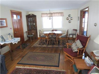 Dennisport Cape Cod vacation rental - Large living room