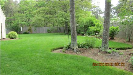 West Yarmouth Cape Cod vacation rental - Large backyard