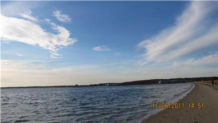West Yarmouth Cape Cod vacation rental - Standish Way Beach (Lewis Bay) is only 0.9 mile away