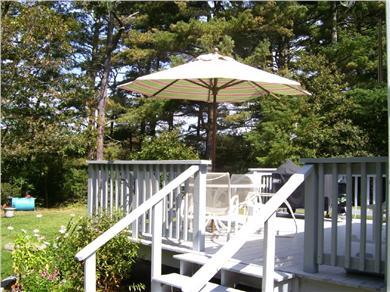 Cotuit Cotuit vacation rental - Back Deck
