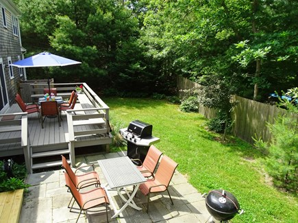 Orleans Cape Cod vacation rental - Relax on the back deck