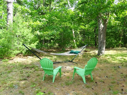 Orleans Cape Cod vacation rental - Relax on the hammock