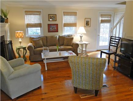 Orleans Cape Cod vacation rental - Inviting living room with a flat screen TV