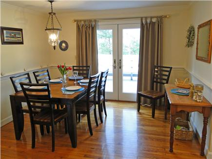 Orleans Cape Cod vacation rental - Sunny dining room with slider to spacious deck