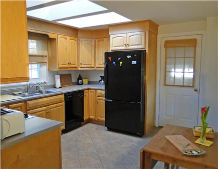 Orleans Cape Cod vacation rental - Modern kitchen with cathedral ceiling and skylight