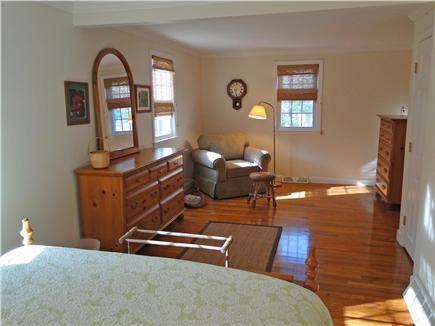 Orleans Cape Cod vacation rental - Master bedroom includes sitting area