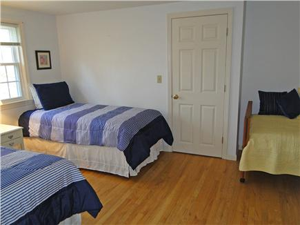 Orleans Cape Cod vacation rental - Upstairs bedroom with three twin beds