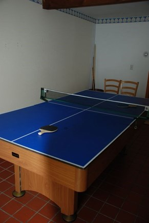 Wellfleet, Trotting Park - Near Town Cent Cape Cod vacation rental - Ping Pong/Pool Table