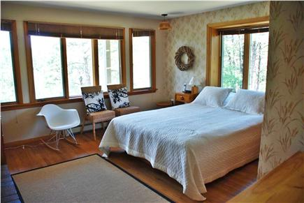 Wellfleet, Trotting Park - Near Town Cent Cape Cod vacation rental - Master Bedroom with Fireplace