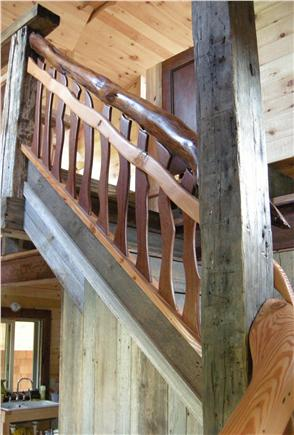 North Eastham Cape Cod vacation rental - Stairs detail