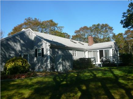Brewster Cape Cod vacation rental - Back yard view