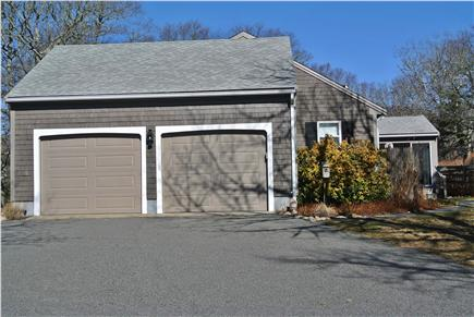 Brewster Cape Cod vacation rental - Two car garage with remote opener