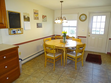 Brewster Cape Cod vacation rental - Dining area, located on one side of large Kitchen