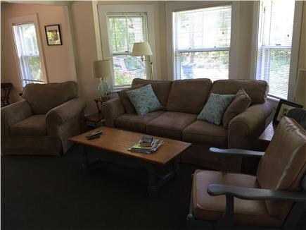 Hyannis Cape Cod vacation rental - Comfortable living room with flat screen TV