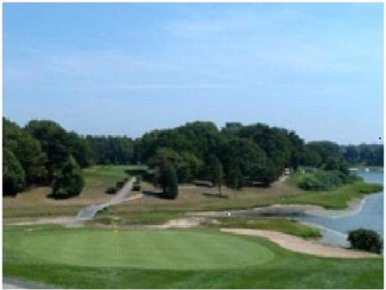 South Yarmouth Cape Cod vacation rental - Bass River Golf course across the street