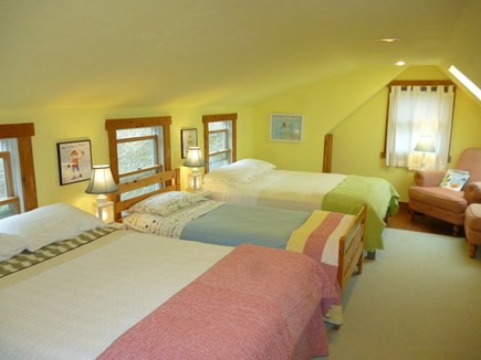 Barnstable Cape Cod vacation rental - Children's storybook bunk room.