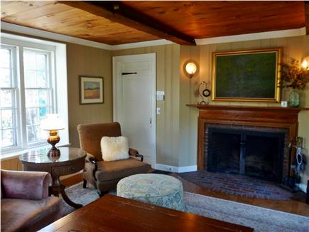 Barnstable Cape Cod vacation rental - Winter living room