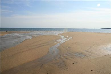 Wellfleet Cape Cod vacation rental - Sweep of sand, low tide