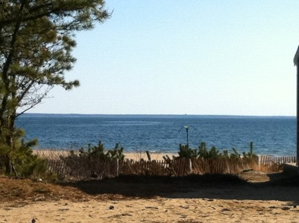 Wellfleet Cape Cod vacation rental - Stunning water view from patio