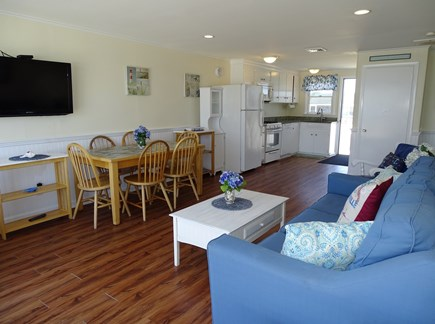West Dennis Cape Cod vacation rental - Inside dining option, opens to kitchen