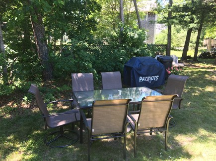 Hyannis Cape Cod vacation rental - Outside BBQ area
