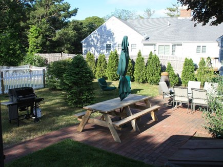 South Yarmouth Cape Cod vacation rental - Large private back yard