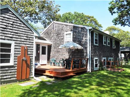 Falmouth Cape Cod vacation rental - Private Back Sun Deck