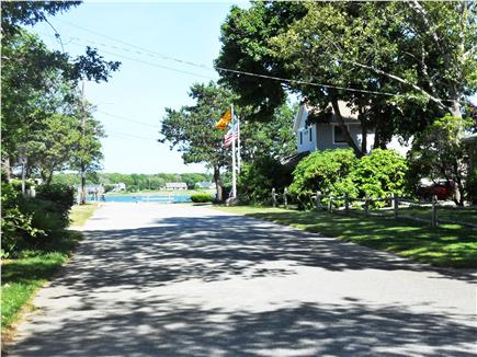 Falmouth Cape Cod vacation rental - View at end of Hiawatha St-Great Pond