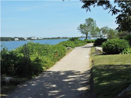Falmouth Cape Cod vacation rental - Running / Walking Path from Hiawatha St. to the Ocean Beaches