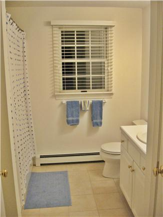 Dennis Cape Cod vacation rental - Second floor full bath/linen closet