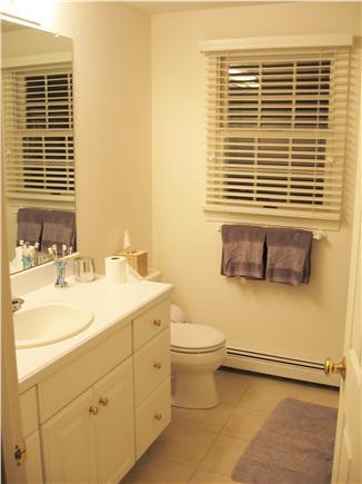 Dennis Cape Cod vacation rental - Master bath with shower.