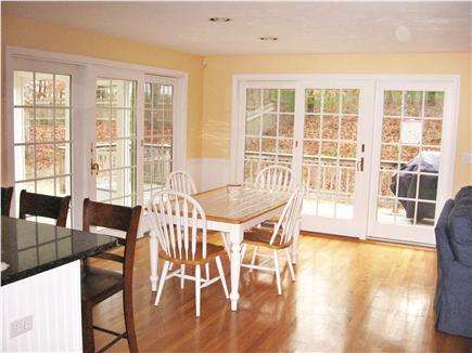 Dennis Cape Cod vacation rental - Dining room/ table for 6(new/not shown) plus 3 barstools.