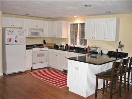 Dennis Cape Cod vacation rental - Kitchen with granite countertops/dishwasher/micro.