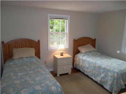 Brewster Cape Cod vacation rental - Second bedroom has Two Twin beds and a cable TV