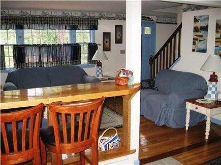 Eastham Cape Cod vacation rental - Living room from kitchen
